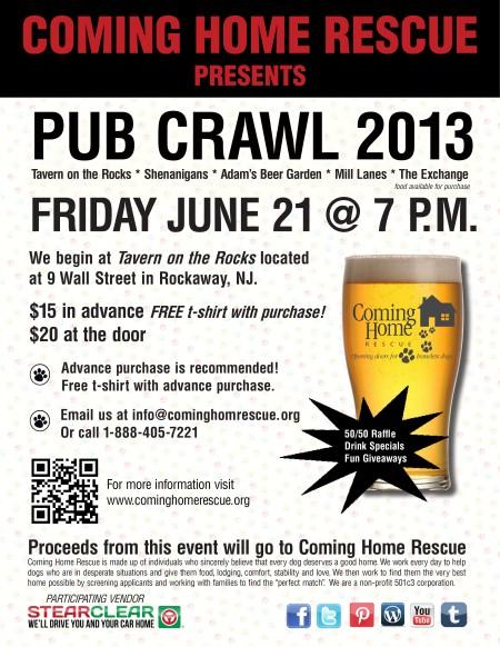 pub crawl 2013