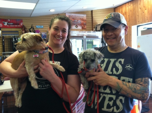 Sid with her new family