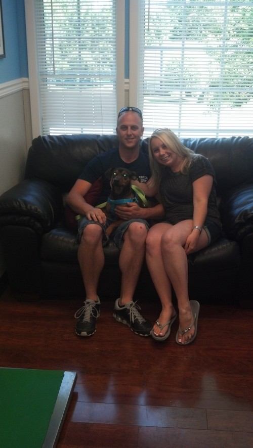 Brady (now Brody) went from euthanasia row to a new home in 3 days! What a happy ending!
