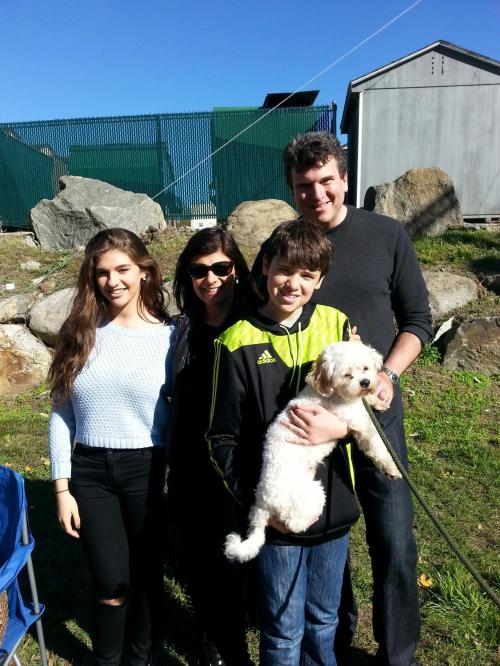 Jolly adopted with family