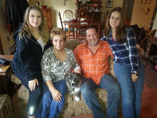 Adele and her family